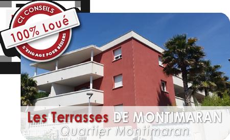 Terrasses de Montimaran